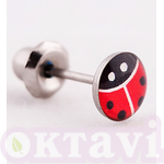 187C Lady Bug - St Steel
