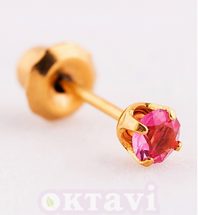 90 Rose October classic setting - 24Kt
