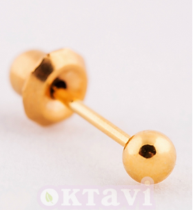 Ball -  Gold Plated